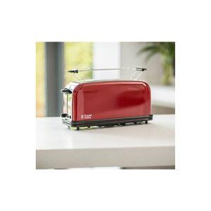 Russell Hobbs Grille-pain extra-long Color Plus + 1 emplacement 21391-56 - Rouge - Publicité