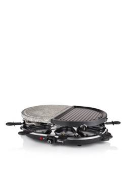 Princess 162710 Appareil à raclette, Grill & Pierre à cuire ovale