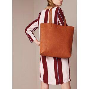 o my bag Georgia shopper van leer - Cognac - Publicité