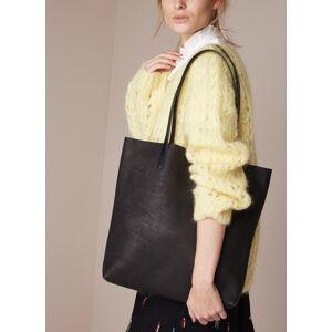 o my bag Georgia shopper van leer - Noir - Publicité