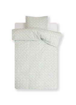 Juna Set housse de couette Pleasantly en satin de coton biologique - Taies d'oreiller incluses
