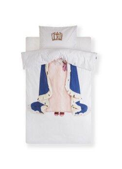 Snurk Ensemble de housse de couette pour enfants Queen en percale de coton biologique 160TC - avec taie d'oreiller