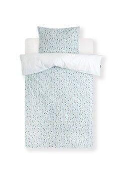 Snurk Ensemble de housse de couette Daisy Dawn en percale de coton biologique 160TC - avec taie d'oreiller