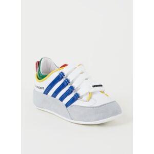 Dsquared2 251 Chaussure bébé à lacets avec détails en daim - Publicité