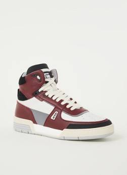 OFF THE PITCH Sneaker Basketta en cuir