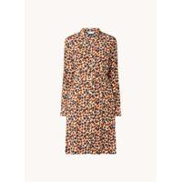 Fabienne Chapot Robe chemise midi avec imprimé floral et ceinture <br /><b>159.99 EUR</b> Debijenkorf.fr
