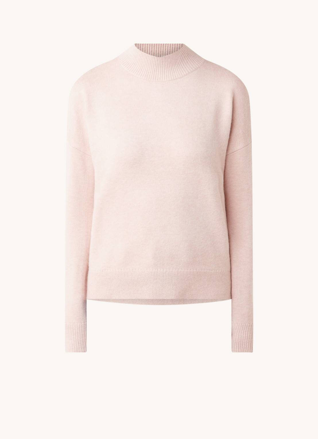 forever new Pull en maille fine Riley avec col roulé bas - Rose clair