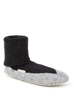 Falke Chaussettes d'intérieur Cosyshoe en mélange de laine avec antidérapant