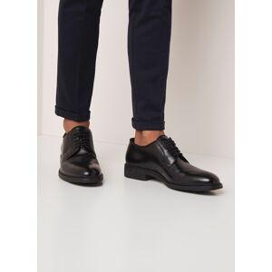 BOSS Chaussures à lacets en cuir Firstclass Derb - Noir - Publicité