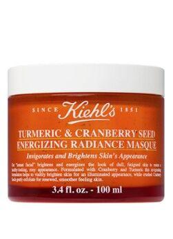 Kiehl's Masque éclat énergisant au curcuma et aux graines de canneberge - masque