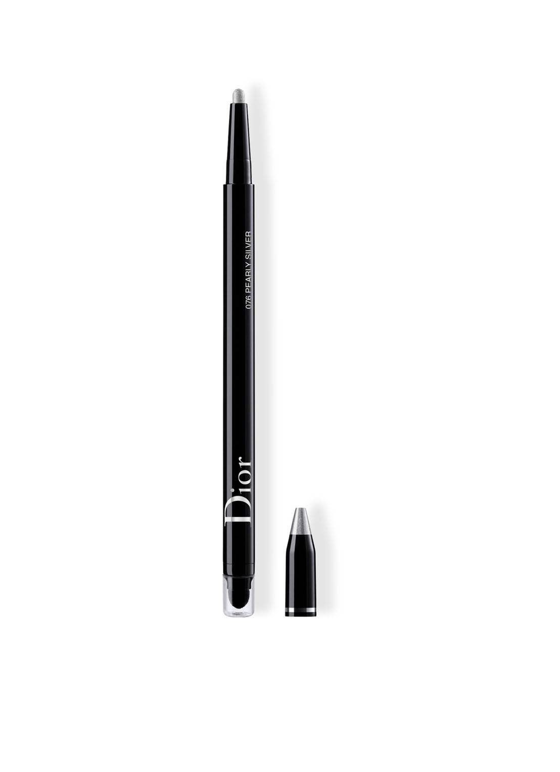 dior Diorshow 24H Stylo - eye-liner imperméable - 076 Pearly Silver