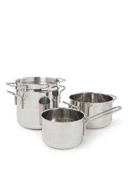 Eva Solo Jeu de casseroles en acier inoxydable 4pièces