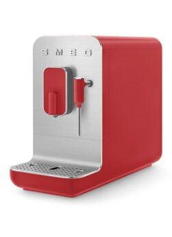 SMEG 50's Style Machine à café entièrement automatique BCC02RDMEU