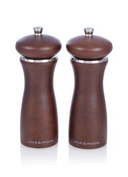 Cole & Mason Moulin à poivre et sel Sherwood Forest 17 cm 2 pièces