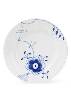 Royal Copenhagen Assiette à petit-déjeuner Blue Fluted Mega 17cm