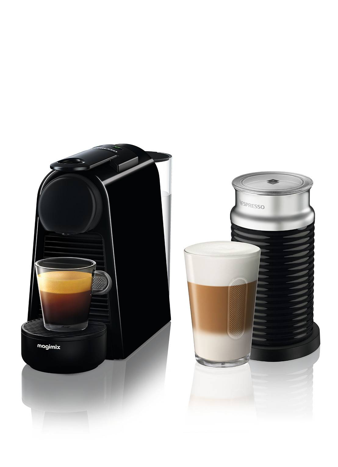 magimix Machine Nespresso Essenza Mini Bundle -