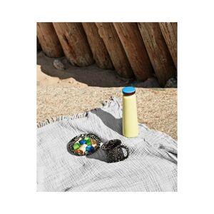 hay Plaid Crinkle en coton 150 x 210cm - Gris - Publicité