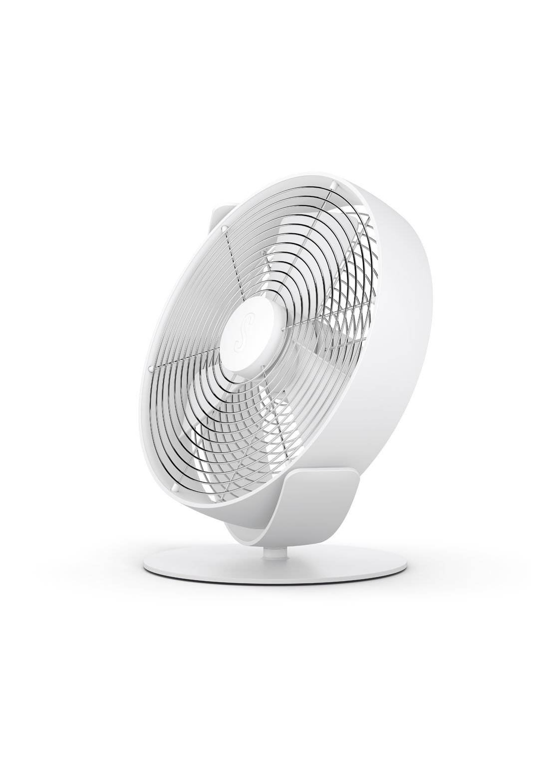stadler form Ventilateur de table TIM, 29 cm de haut - Blanc