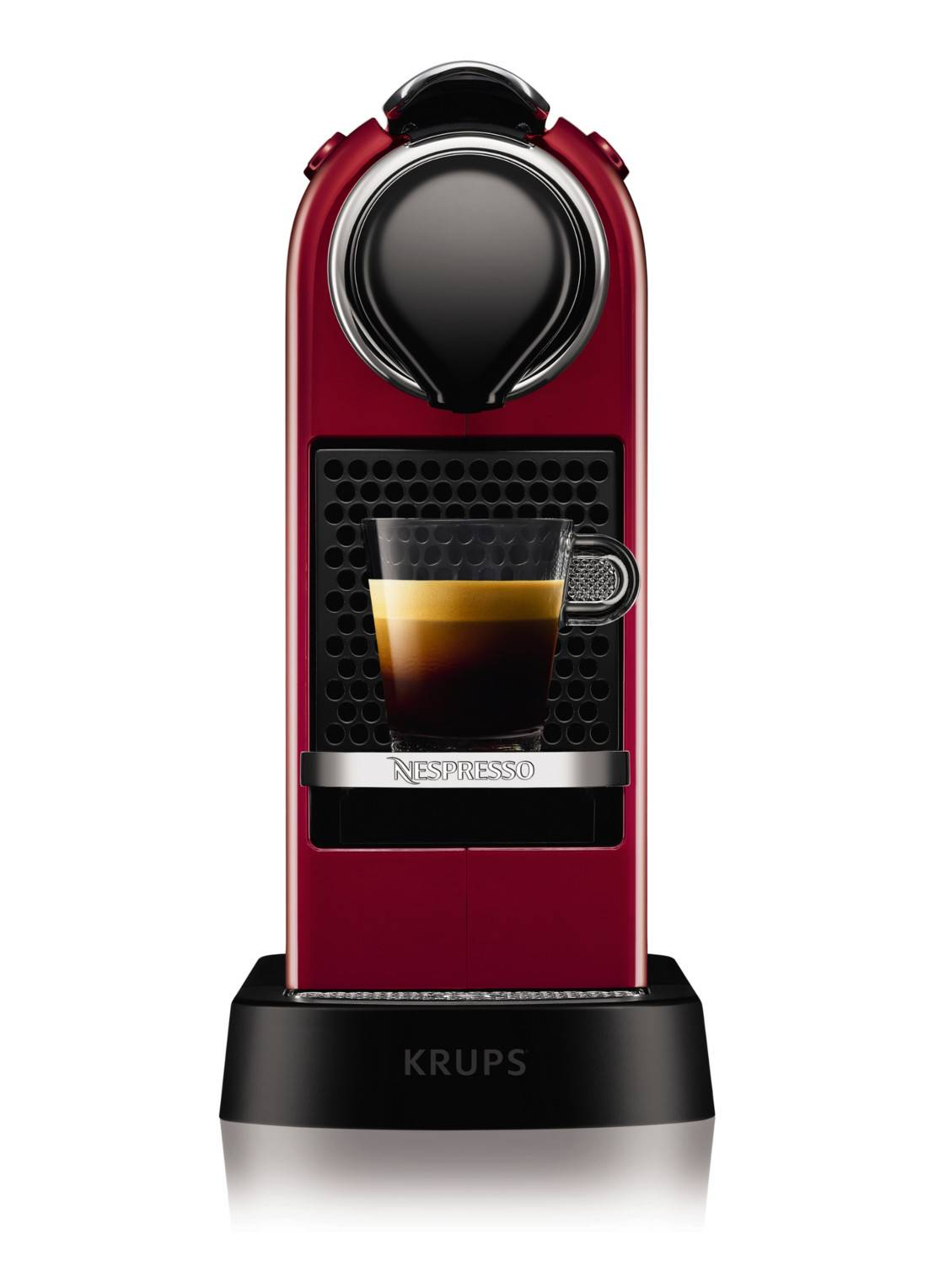 krups Machine Nespresso CitiZ XN7405 - Rouge