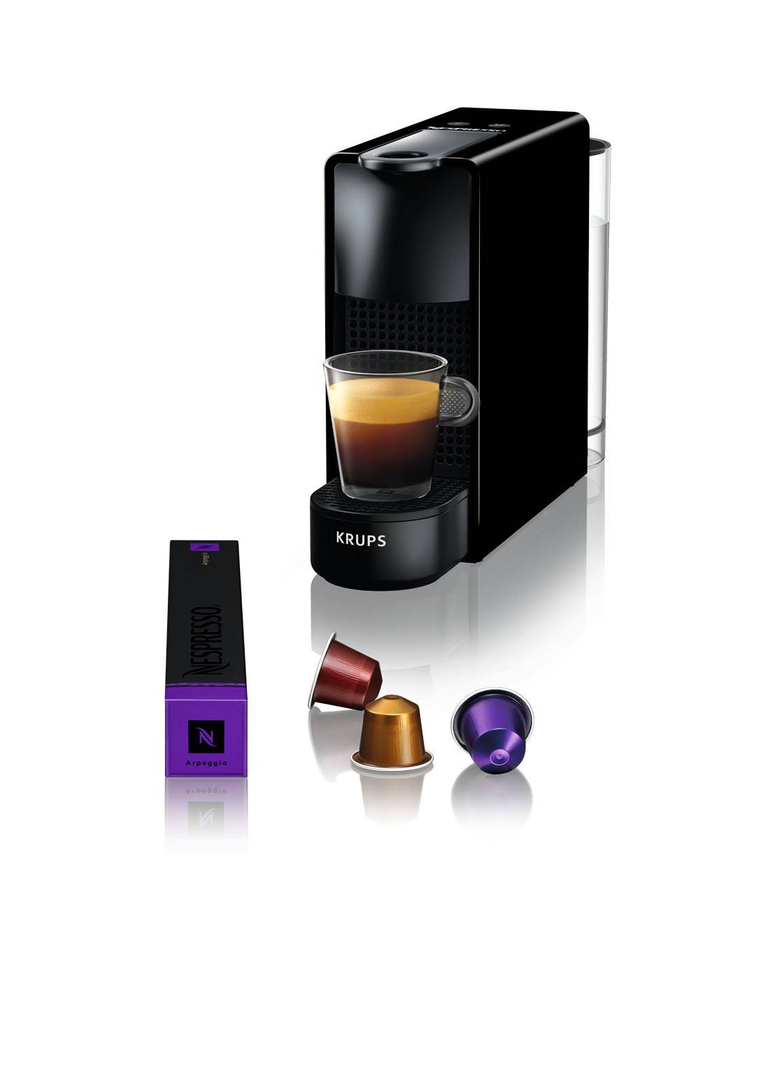 krups Essenza Mini Nespresso machine XN1108 - Noir