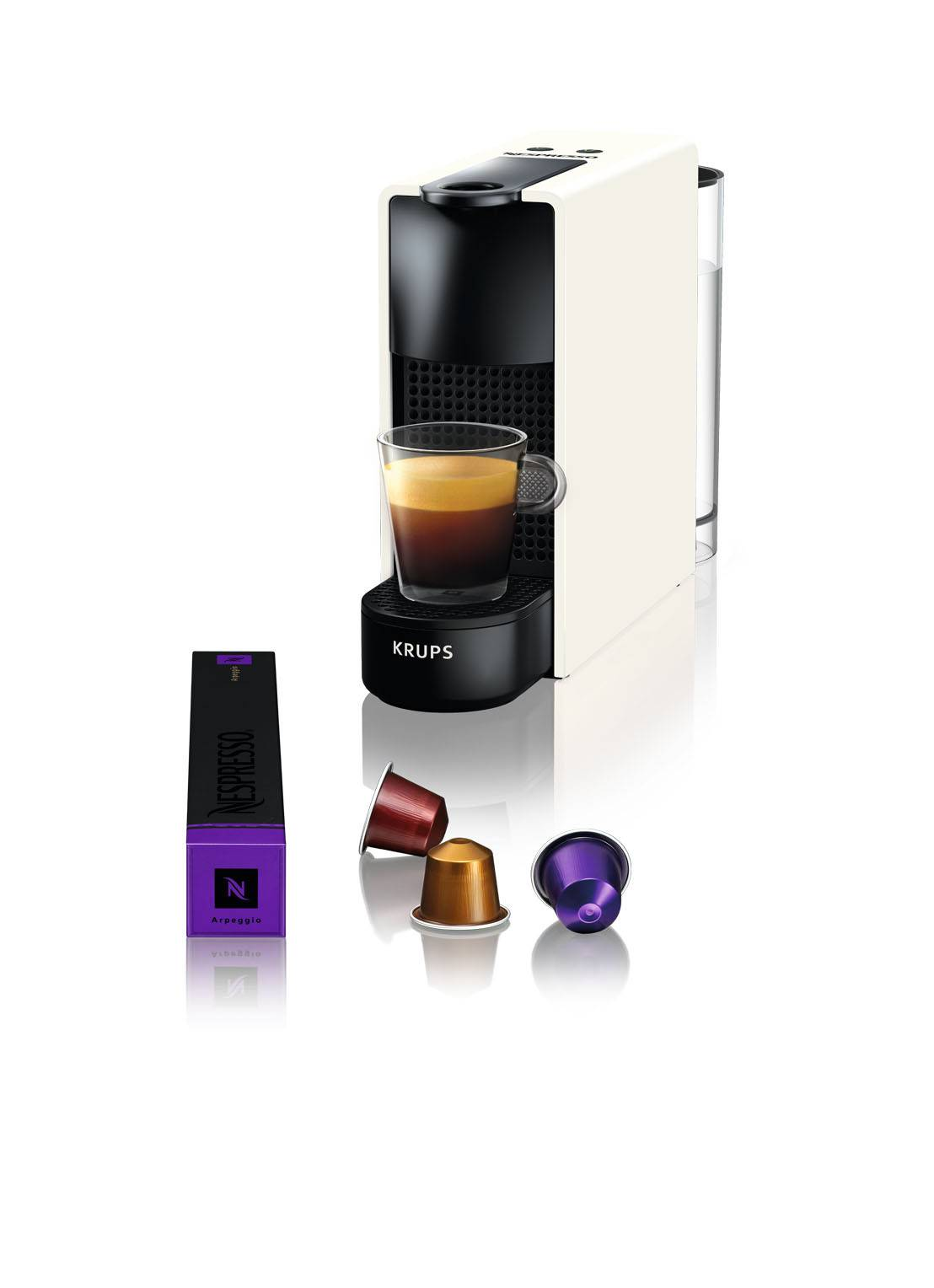 krups Machine Essenza Mini Nespresso XN1101 - Blanc