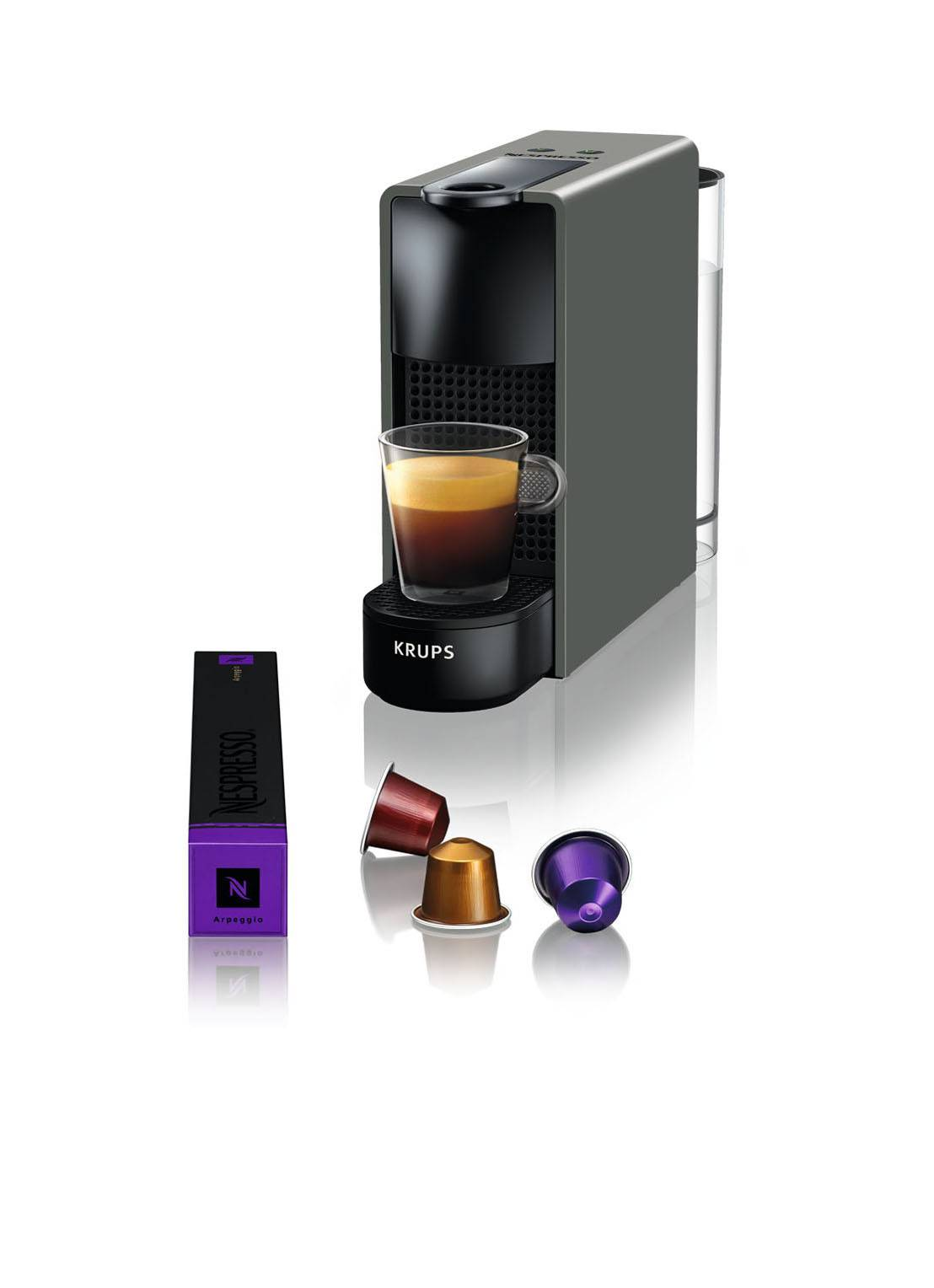 krups Essenza Mini Nespresso machine XN110B - Anthracite
