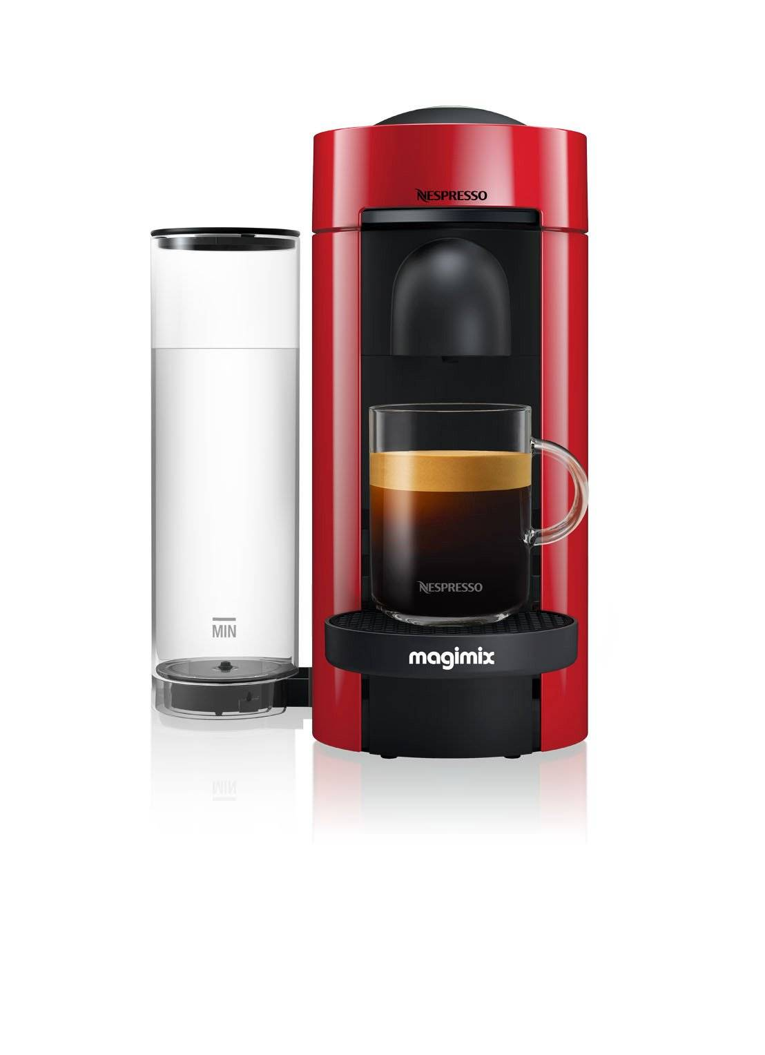 magimix Vertuo Plus machine à Nespresso 11399 - Rouge