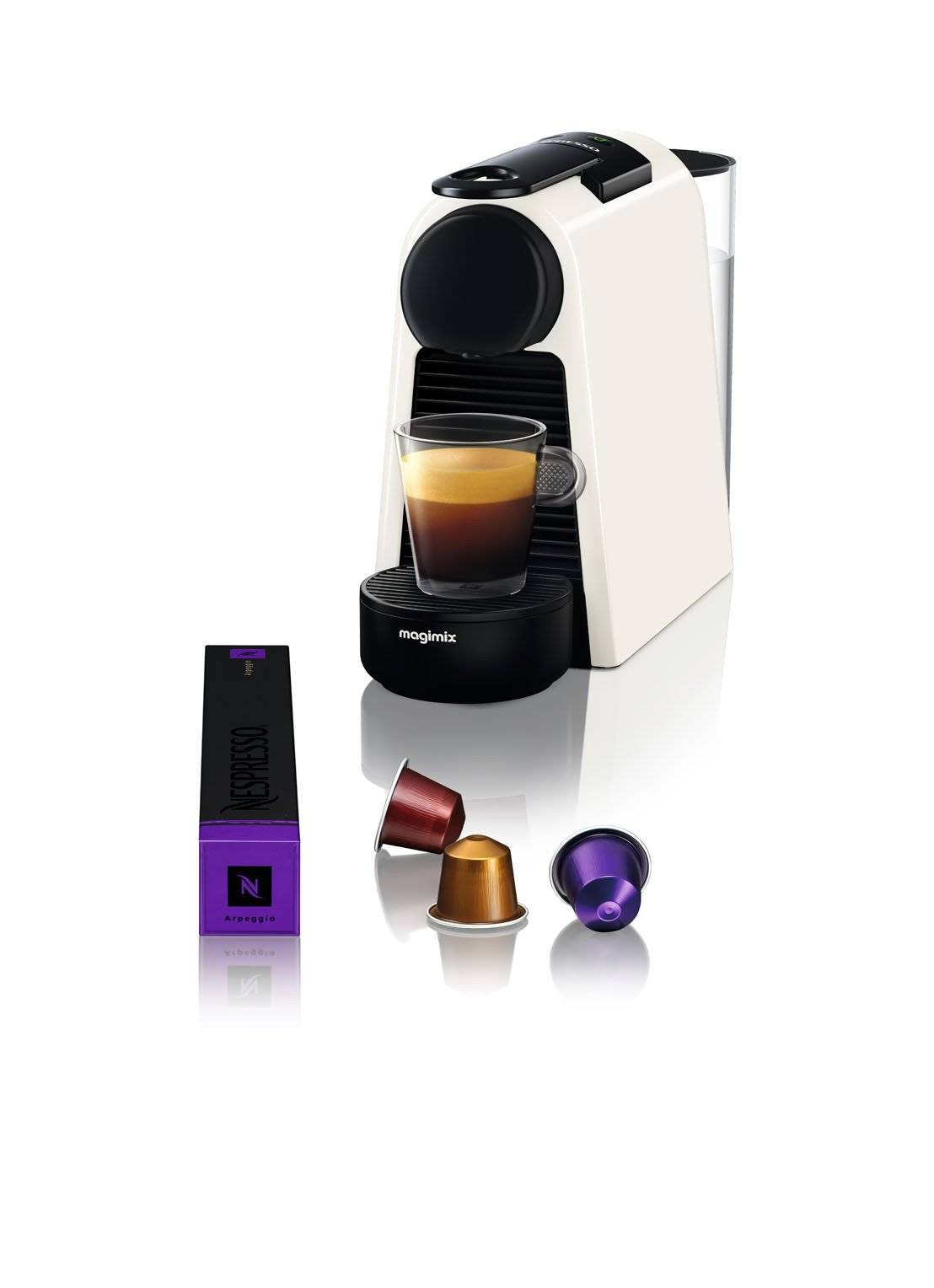 magimix Essenza Mini Nespresso machine 11365 - Blanc