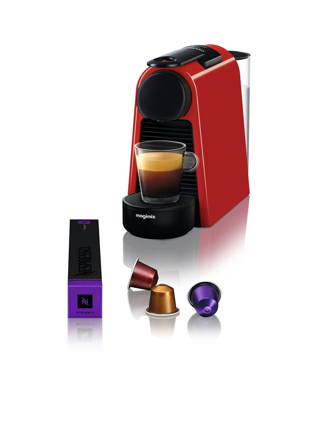 magimix Essenza Mini Nespresso machine 11366 - Rouge