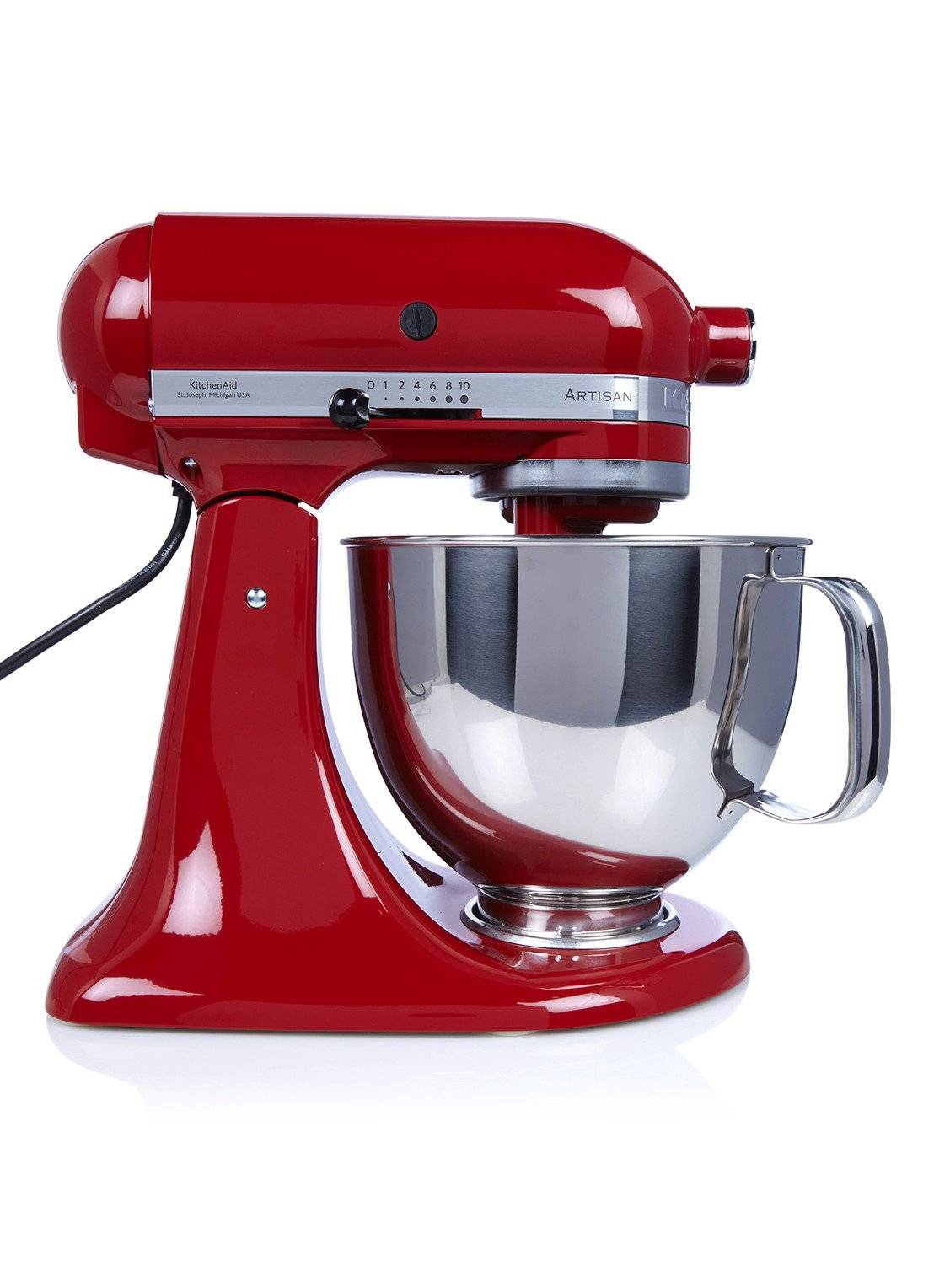 kitchenaid Robot culinaire Artisan 4,8 litres 5KSM125EER - Rouge Empire - Rouge