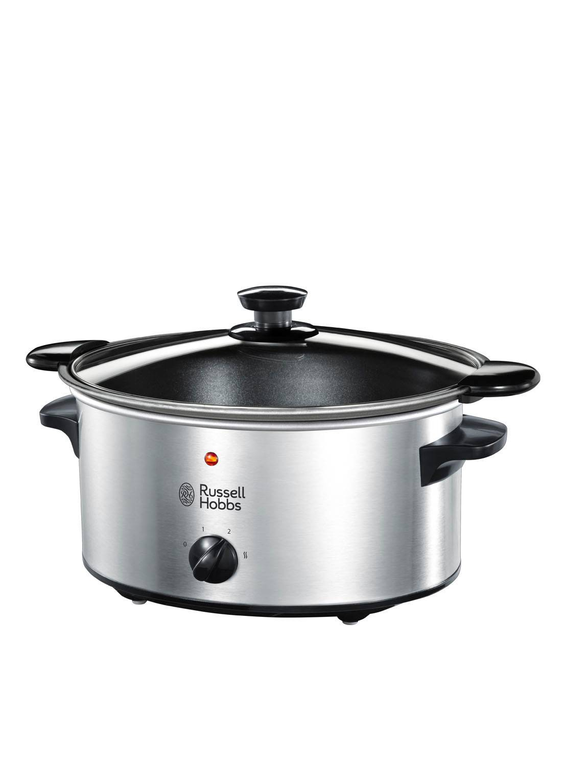 russell hobbs Cook at Home mijoteuse 3,5 litres 22740-56 - Argent