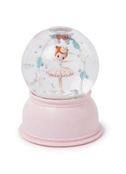 Djeco Lampe de nuit boule à neige Ballerina 11 cm