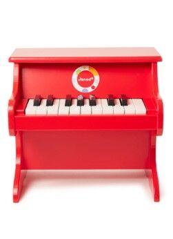 Janod Piano en bois confettis