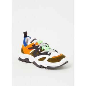 Dsquared2 Sneaker géante avec détails en cuir et daim - Publicité