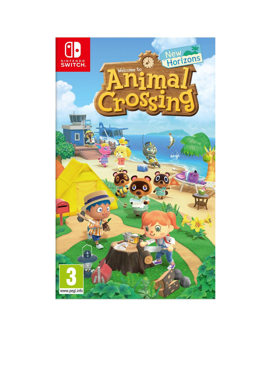 nintendo Jeu Animal Crossing New Horizons - Nintendo Switch - Bleu