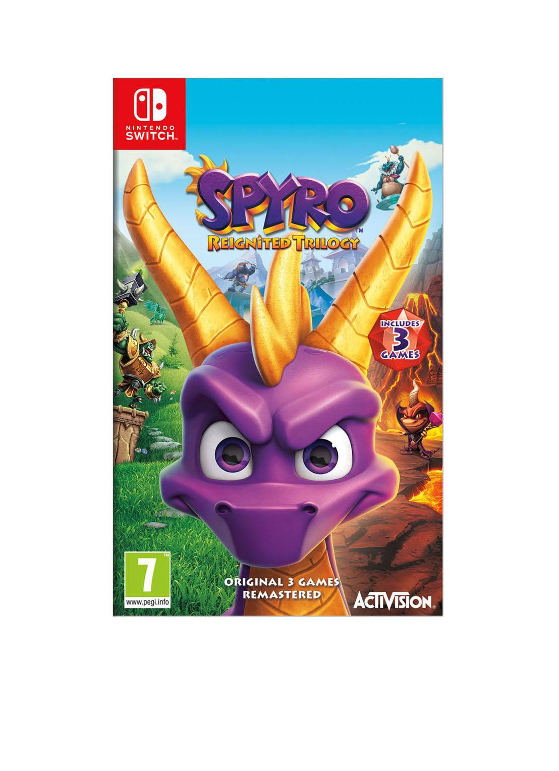 activision Spyro : Jeu Trilogy Reignited - Nintendo Switch - ensemble de 3 jeux -