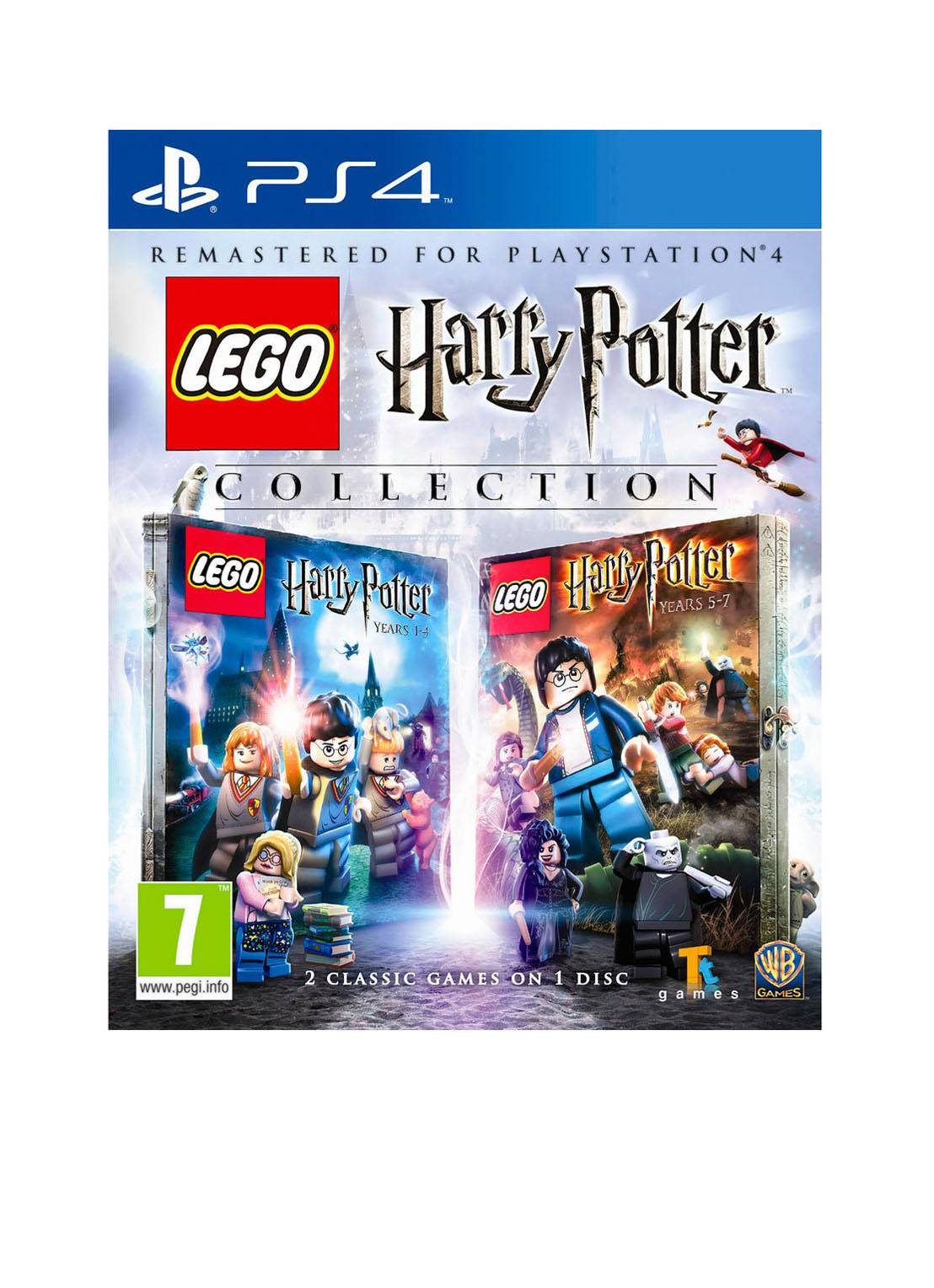 warner bros LEGO Harry Potter Years 1-7Collection PS4 -