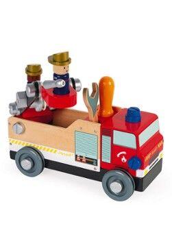 Janod Janod Brico'kids - Voiture de pompiers