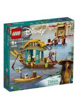 Lego Le bateau de la princesse Disney Boun - 43185