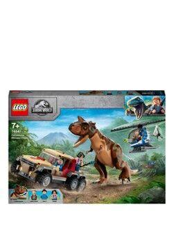 Lego Ensemble de construction poursuite du dinosaure Carnotaurus - 76941