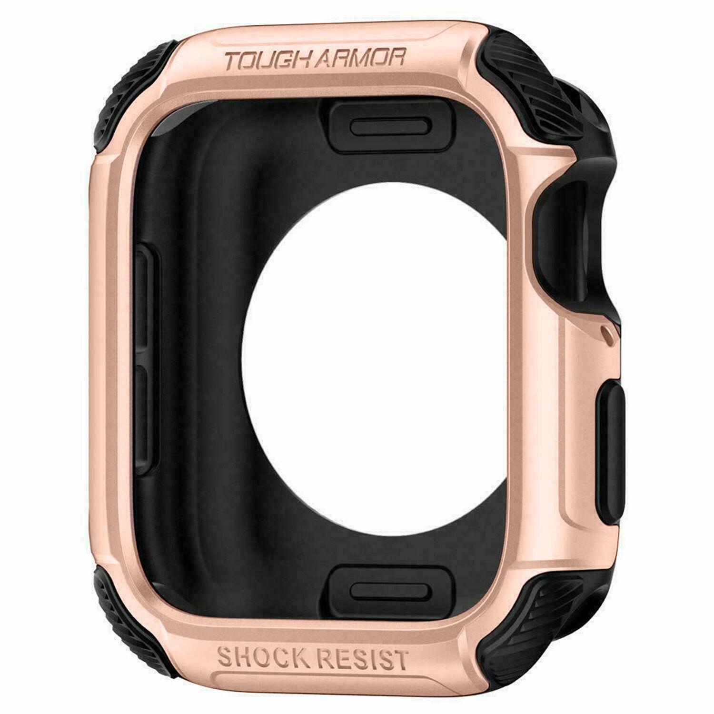 Spigen Coque Tough Armor™ pour l'Apple Watch 44 mm - Rose Champagne