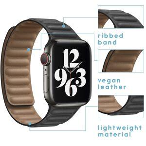 iMoshion Bracelet en cuir vegan Apple Watch Series 1-7 / SE -38/40mm - Publicité