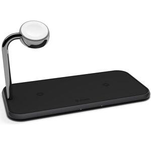 Zens Chargeur sans fil 2 en 1 Dual + Apple Watch - 10W - Noir - Publicité