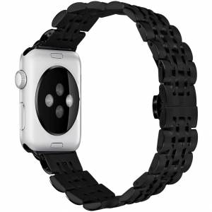 iMoshion Bracelet en acier Apple Watch Series 1-6 / SE - 38/40mm - Publicité