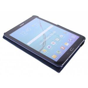Coquedetelephone.fr Étui de tablette portefeuille rotatif à 360° pour le Galaxy Tab S2 9.7 - Bleu foncé - Publicité