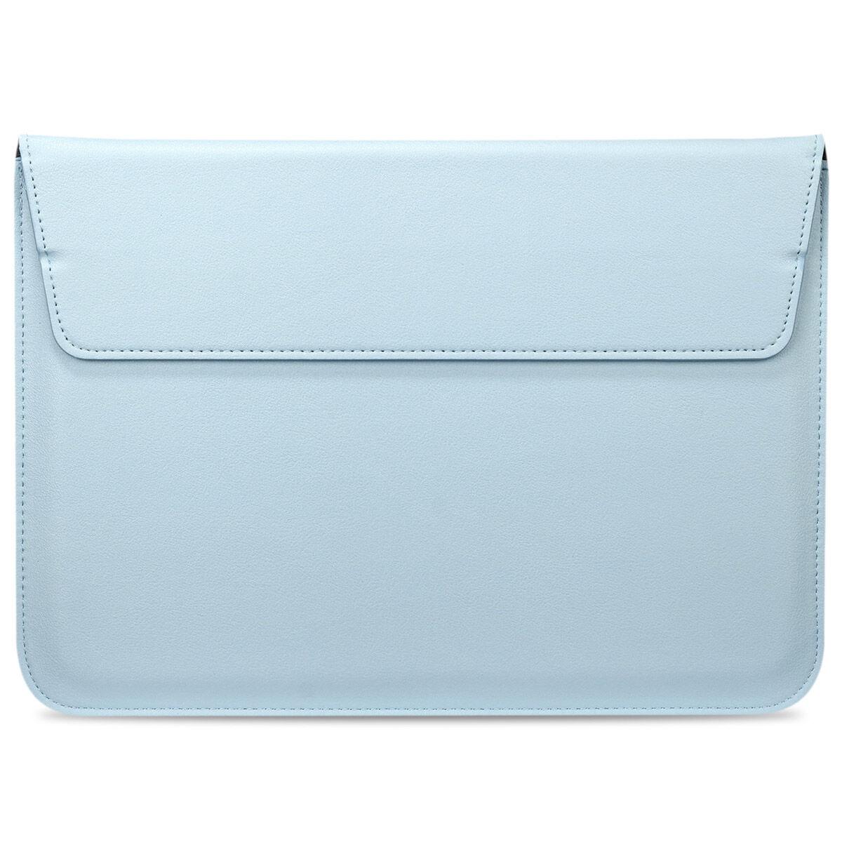 iMoshion Vegan Lederen Laptop Sleeve 15 pouces - Bleu clair