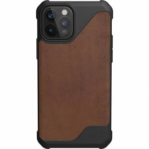 UAG Coque Metropolis LT pour l'iPhone 12 (Pro) - Leather Brown - Publicité