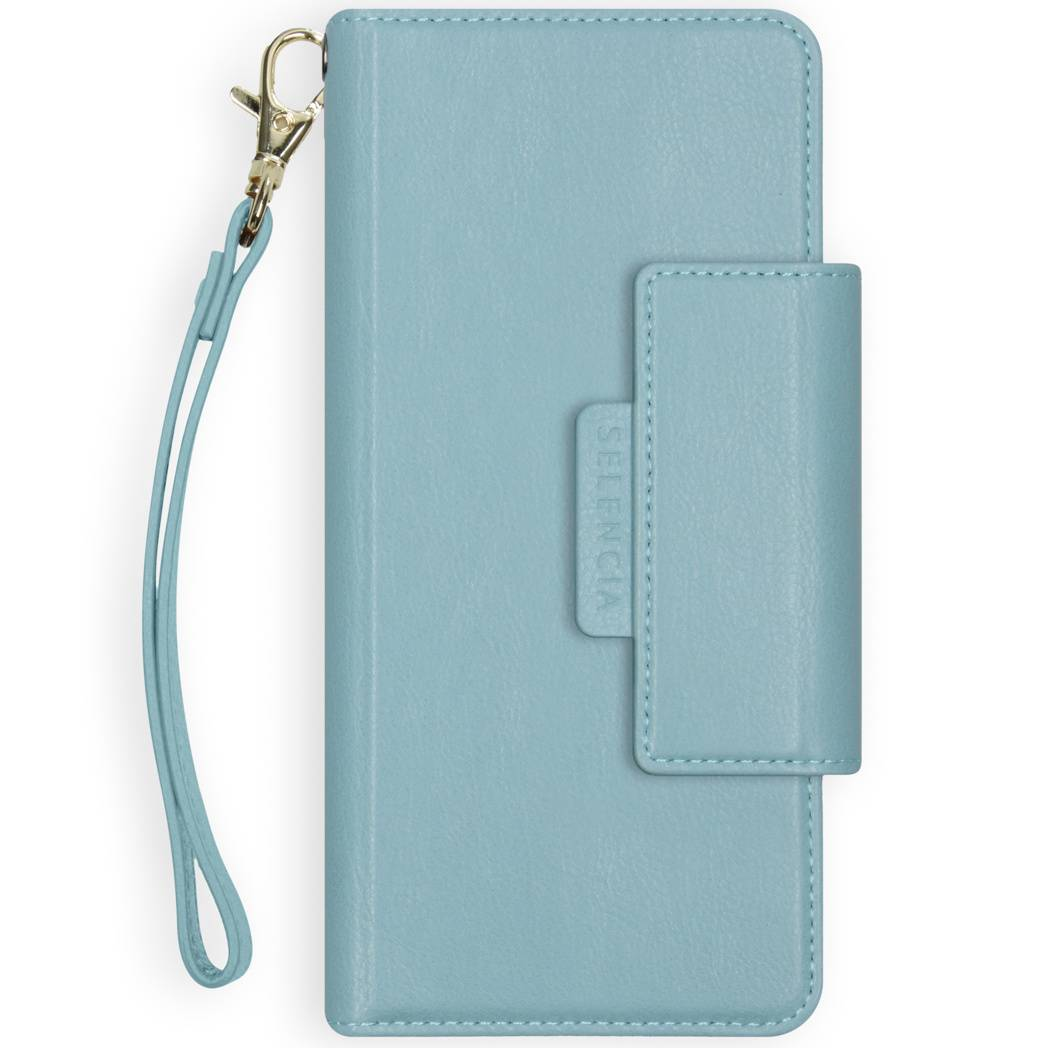 Selencia Étui de téléphone portefeuille amovible en cuir végétalien 2-en-1 Surya iPhone 11