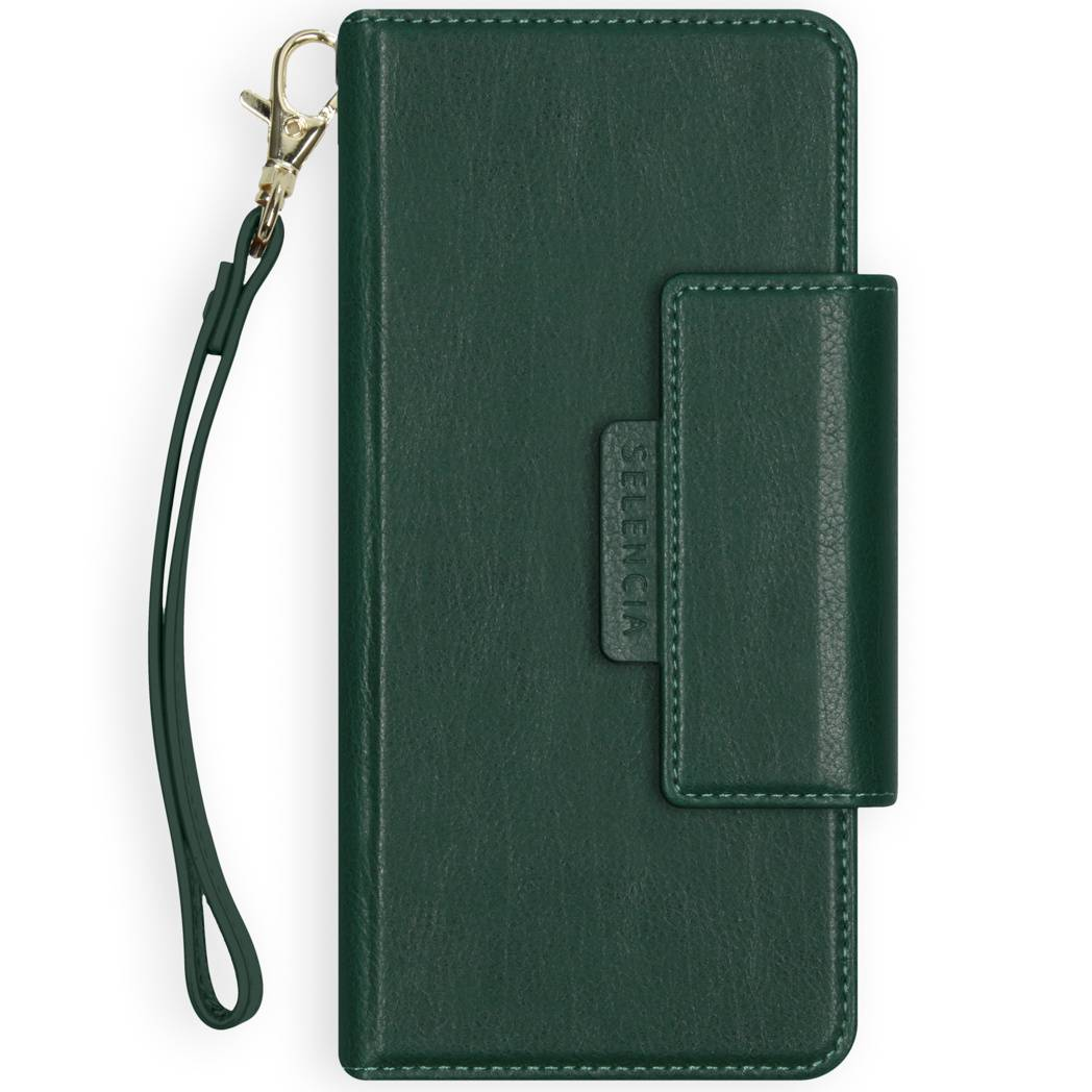 Selencia Étui de téléphone portefeuille amovible en cuir végétalien 2-en-1 Galaxy S20 Ultra