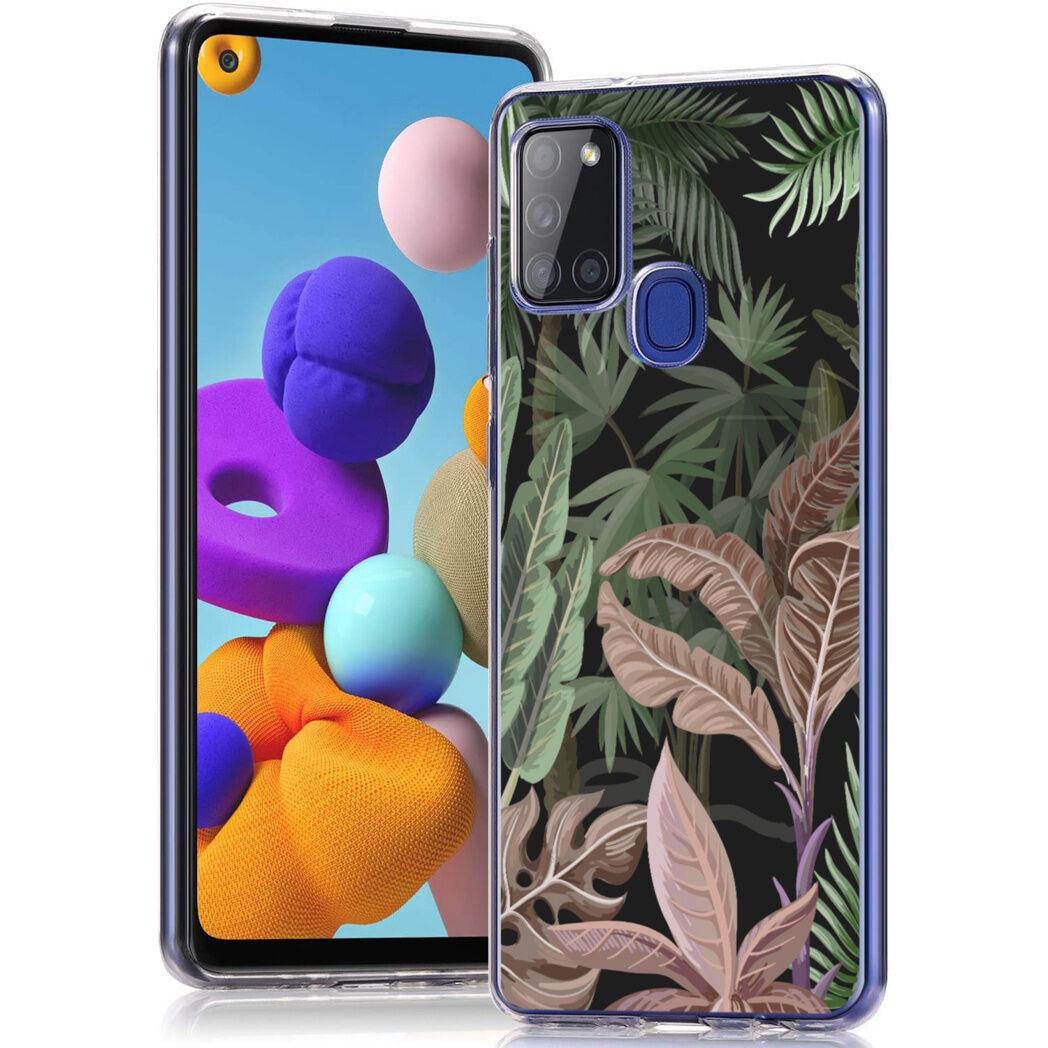iMoshion Coque Design pour le Samsung Galaxy A21s - Dark Jungle